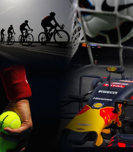 Sport Vandaag: Voetbal, EK baanwielrennen en Formule 1