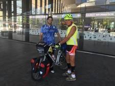 Rotterdammer redt fietsvakantie Italianen