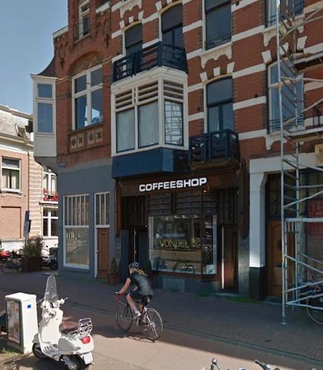 Coffeeshop Vondel aan de Overtoom beschoten