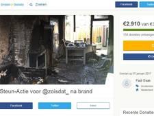 Crowdfunding via Twitter voor slachtoffer woningbrand