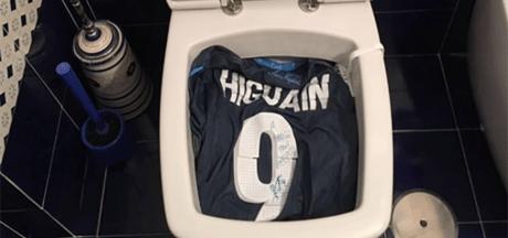 Napoli-fans woedend vanwege aanstaand vertrek Higuaín