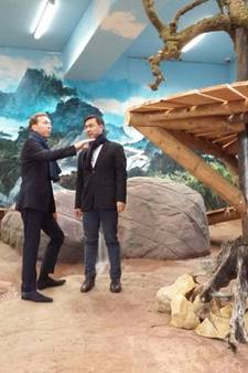 Chinese delegatie: 'Pandaverblijf Rhenen mooiste ter wereld' (video)