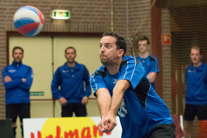 VC Volt speler Jan Wijnhoven.