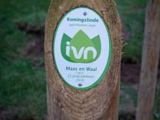 Jarig IVN schenkt acht bomen aan Maas en Waal