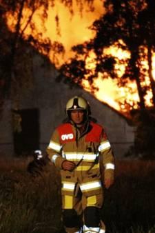 Afgebrande boerderij Vathorst snel gesloopt