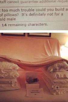 Hotels voeren absurde verzoekjes van gast uit
