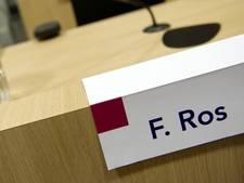 Kroongetuige Fred Ros in liquidatieproces komt niet vrij
