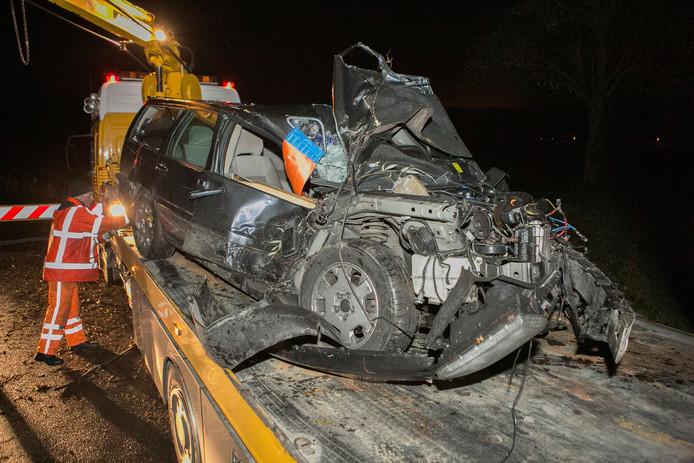 Volgens een ooggetuige had de bestuurder eerder die avond alcohol genuttigd.