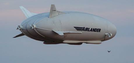 Grootste vliegtuig ter wereld gecrasht tijdens testvlucht