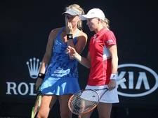 Bertens uitgeschakeld in dubbelspel Australian Open