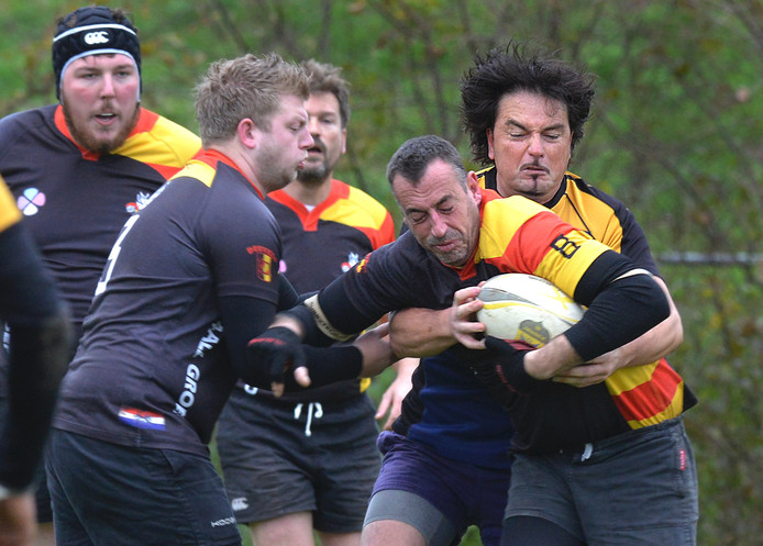 De Tielse rugbyers te sterk voor de Purple Panthers 2. Archieffoto: William Hoogteyling