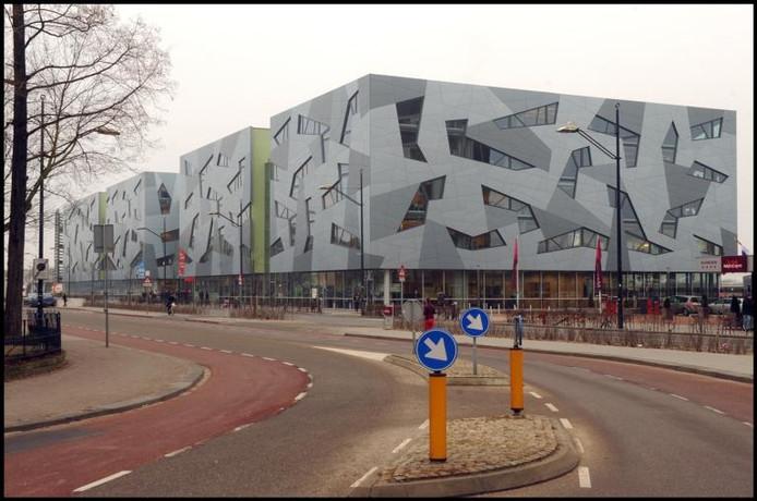 Het ROC-gebouw in Nijmegen.