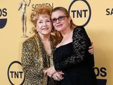 Actrice Debbie Reynolds, moeder van Carrie Fisher, overleden