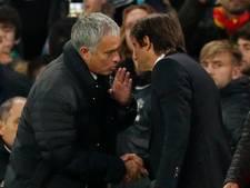 Conte niet blij met kritiek van Mourinho