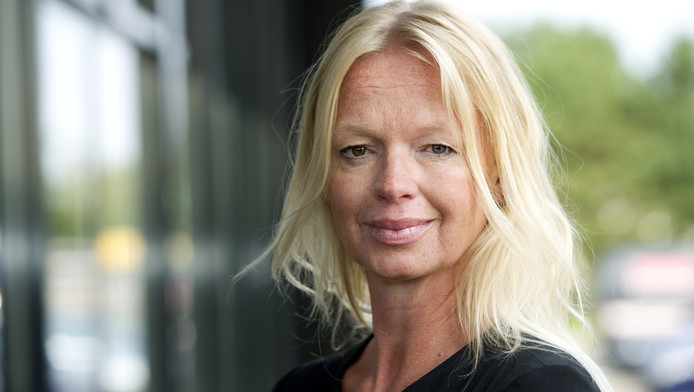 Beoogd hoofdredacteur van het nieuwe Nederlandse blad Karin Swerink. © ANP