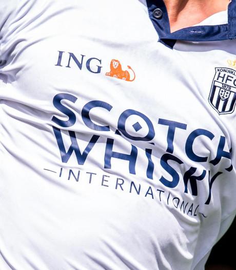 HFC krijgt megaboete van KNVB voor whisky op shirt