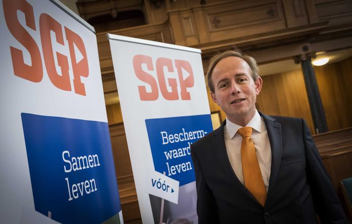 SGP'er Kees van der Staaij belooft 1000 euro