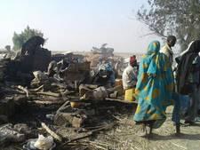 Tientallen doden na bombardement Nigeriaans vluchtelingenkamp