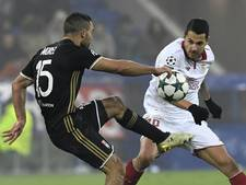 Sevilla houdt Lyon op gelijkspel en bekert verder