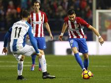 VIDEO: Atlético in eigen huis niet langs Espanyol