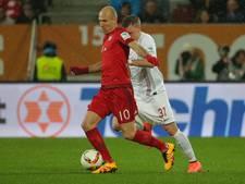 Robben volgens Duitse media nog een jaar bij Bayern München