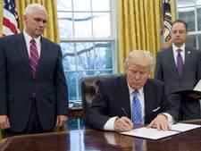 Trump trekt Amerika terug uit handelsverdrag TPP