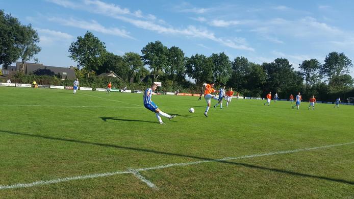 Doetinchem heeft een 3-1 nederlaag gelegen bij Angerlo Vooruit.