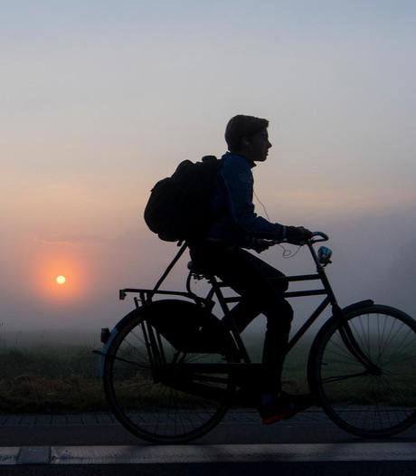 Eerste officiële vorstdag van het jaar begint met dichte mist