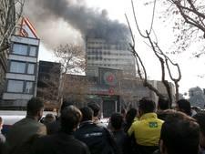 Zeker dertig doden na instorten Iraans flatgebouw