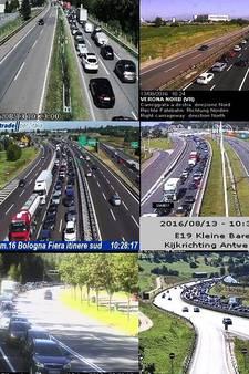 Vakantiegangers zorgen voor topdrukte op Europese wegen