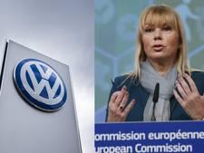 EU-commissaris: VW zou wat meer respect mogen hebben