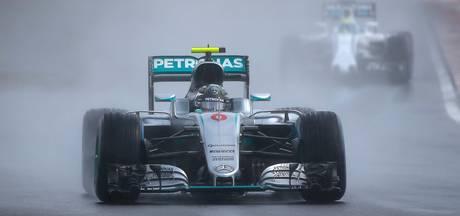 Rosberg gaat vrijuit en behoudt poleposition