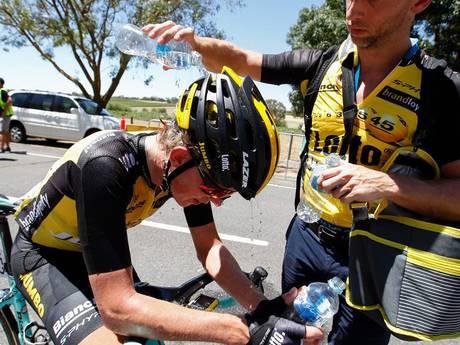 Koen Bouwman in Tour Down Under: Mijn resultaten doen er niet toe