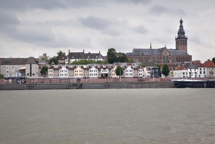 De Waalkade in Nijmegen.