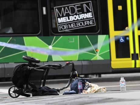 'Totale paniek na dodenrit door winkelstraat in Melbourne'