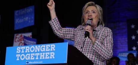 Clinton eerste vrouwelijke presidentskandidaat VS