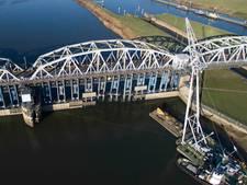Schepen kunnen in de loop van volgende week weer over de Maas