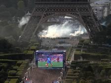 Eiffeltoren blijft gesloten na rellen tijdens EK-finale