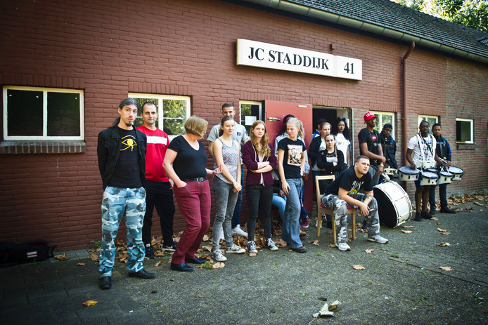 Jongeren bij JC Staddijk.