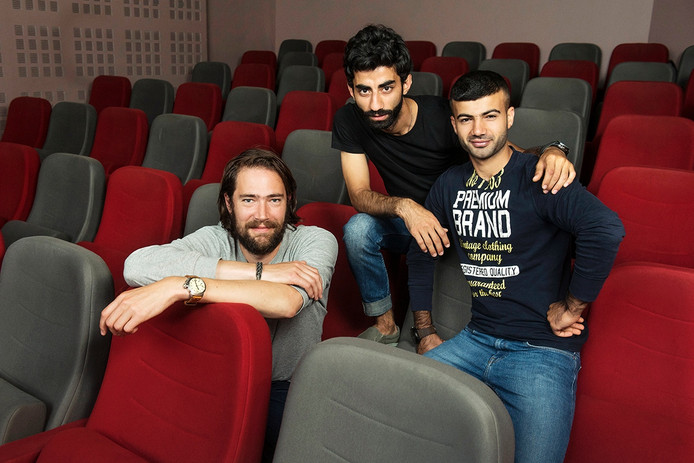 Klaas Arie Westland heeft de korte film die hij maakte over Anwar en Ahmed eerst samen met hen bekeken.