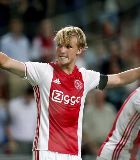 Dolberg maakt indruk bij Ajax