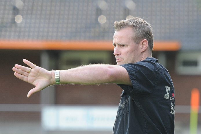 Michiel Jans, trainer van Excellent.