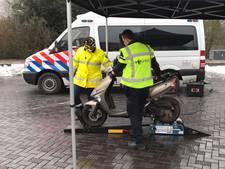Achttien boetes bij grote verkeerscontrole in Nijmegen