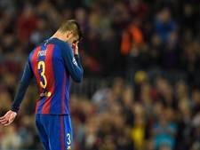 Barcelona weken zonder Piqué en Alba