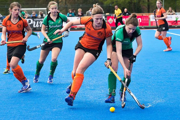 De hockeysters van HCM wonnen van Apeldoorn. Archieffoto