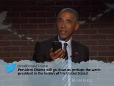 Barack Obama zet Donald Trump op zijn plek