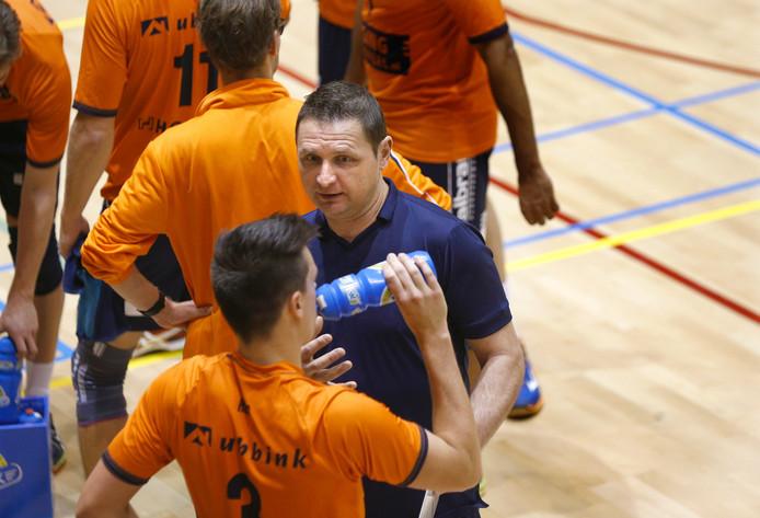 Orion-trainer Goran Aleksov.