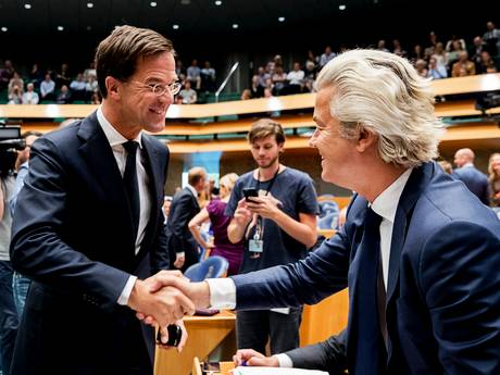 PVV en VVD nek aan nek in peilingen