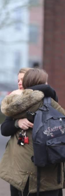 Dag na drama is verdriet op Stedelijk Gymnasium nog voelbaar