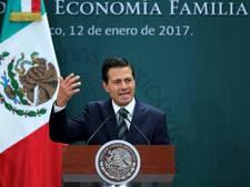 Mexicaanse president belt met Donald Trump